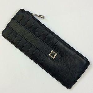 Lodis Artemis Card Case in Black